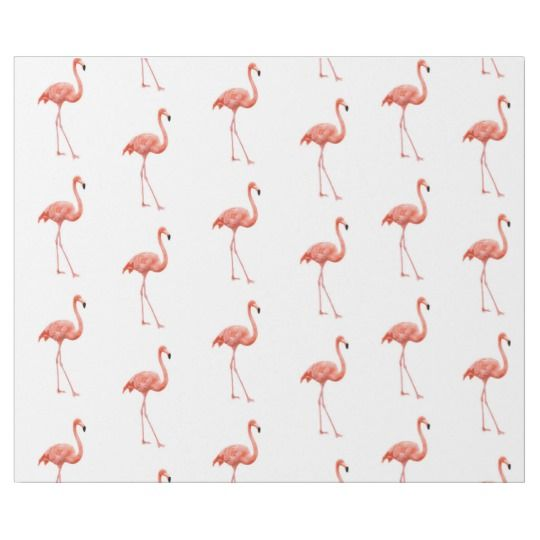 Pink Flamingo Simple Pattern Wrapping Paper Zazzle Com Product