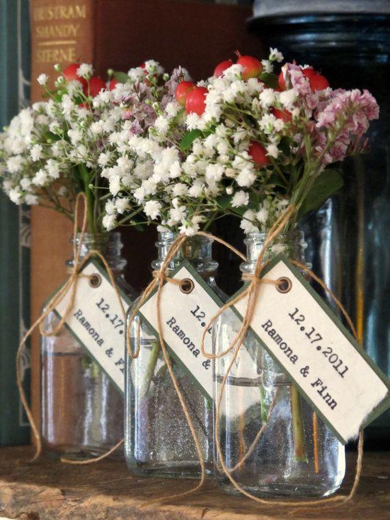 Unique Wedding Favor Bridal Shower Favor Simple Pretty Flowers In