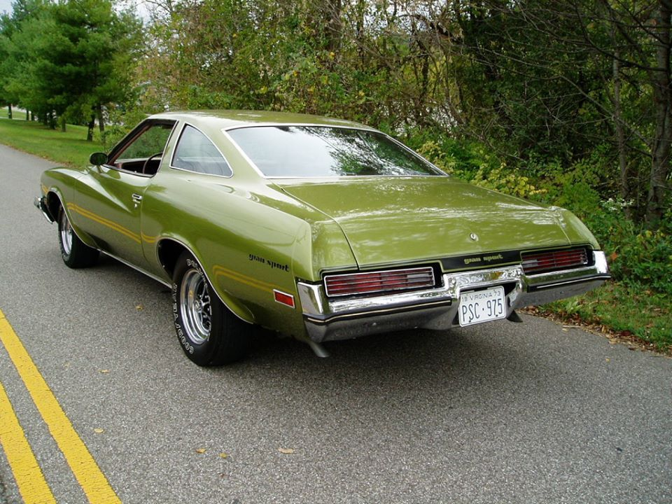 1973 Buick Gran Sport Stage 1 Buick cars, Buick gsx