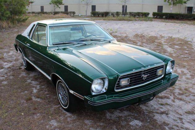Mr Clean S Mustang 1977 Ford Mustang Ii Ghia Mustang Ii Ford Mustang Blue Mustang