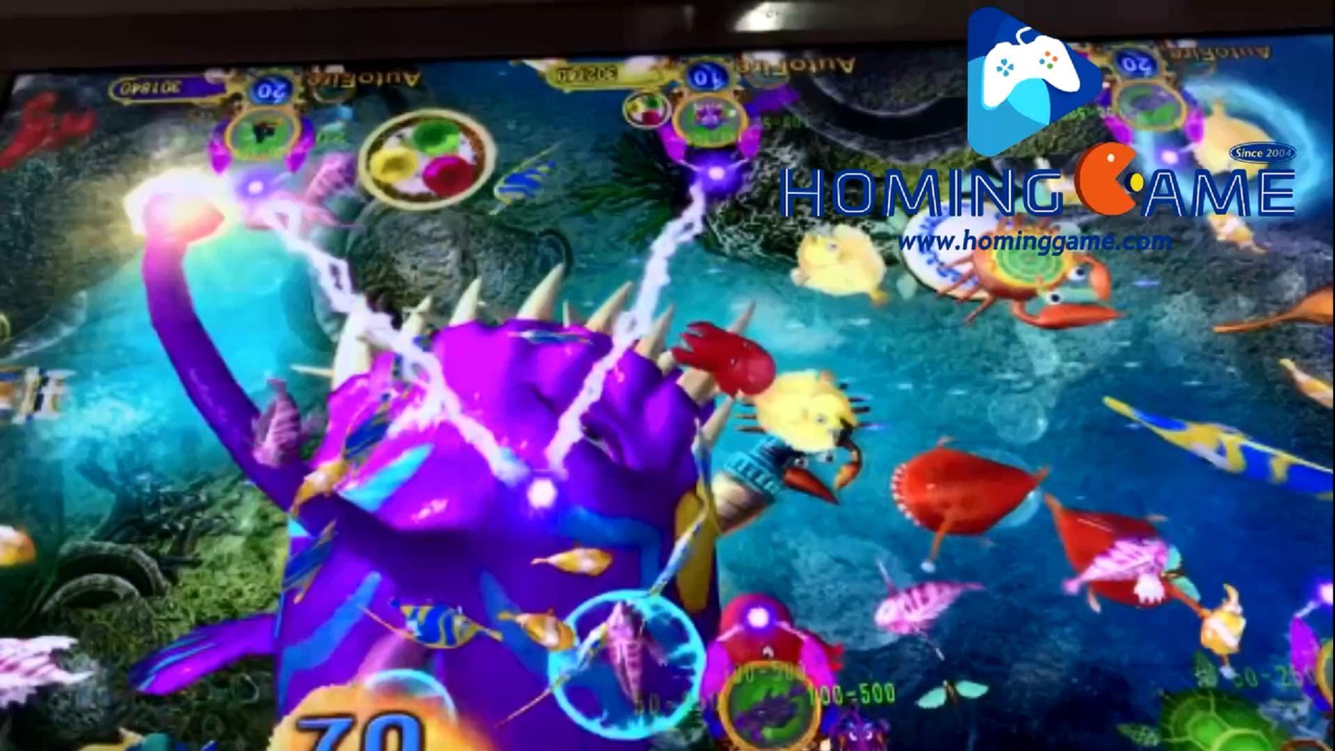 Latest 2019 Ocean King 3 Purple Dragon Legend Revenge Fishing Game Machine By Hominggame Sales Hominggame Com Gametube Fishing Game Kings Game The 3 Kings