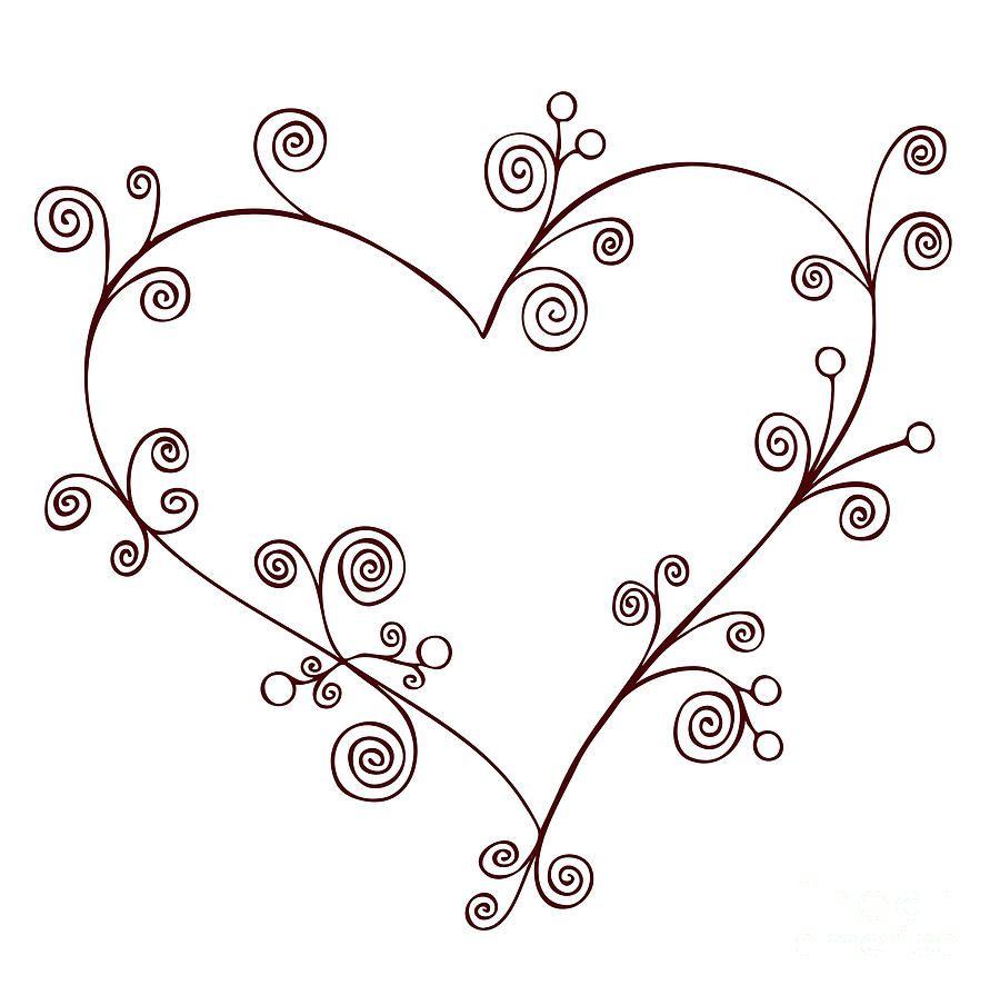 Heart   Pinterest   Pirograbado, Mi corazón y Dibujo