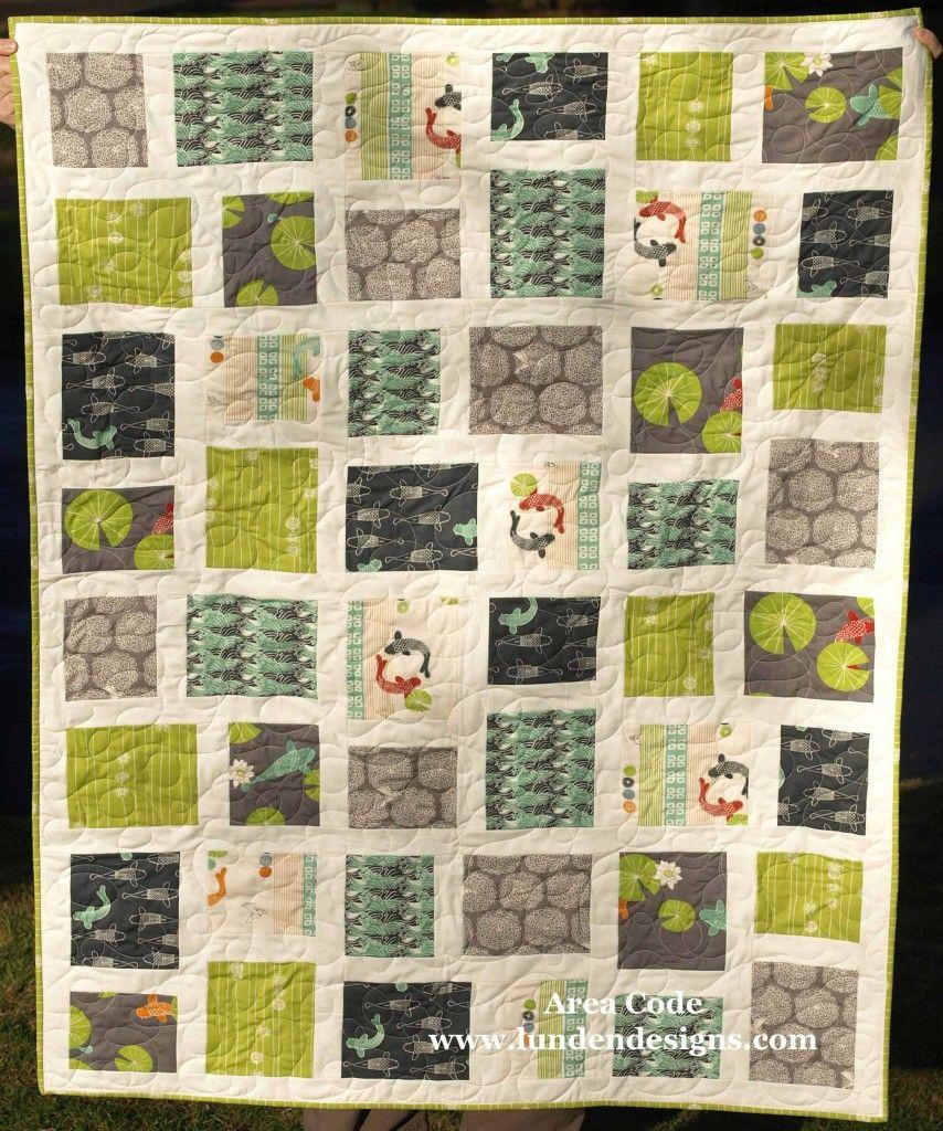 Eiko Area Code Quilt   Lunden Designs