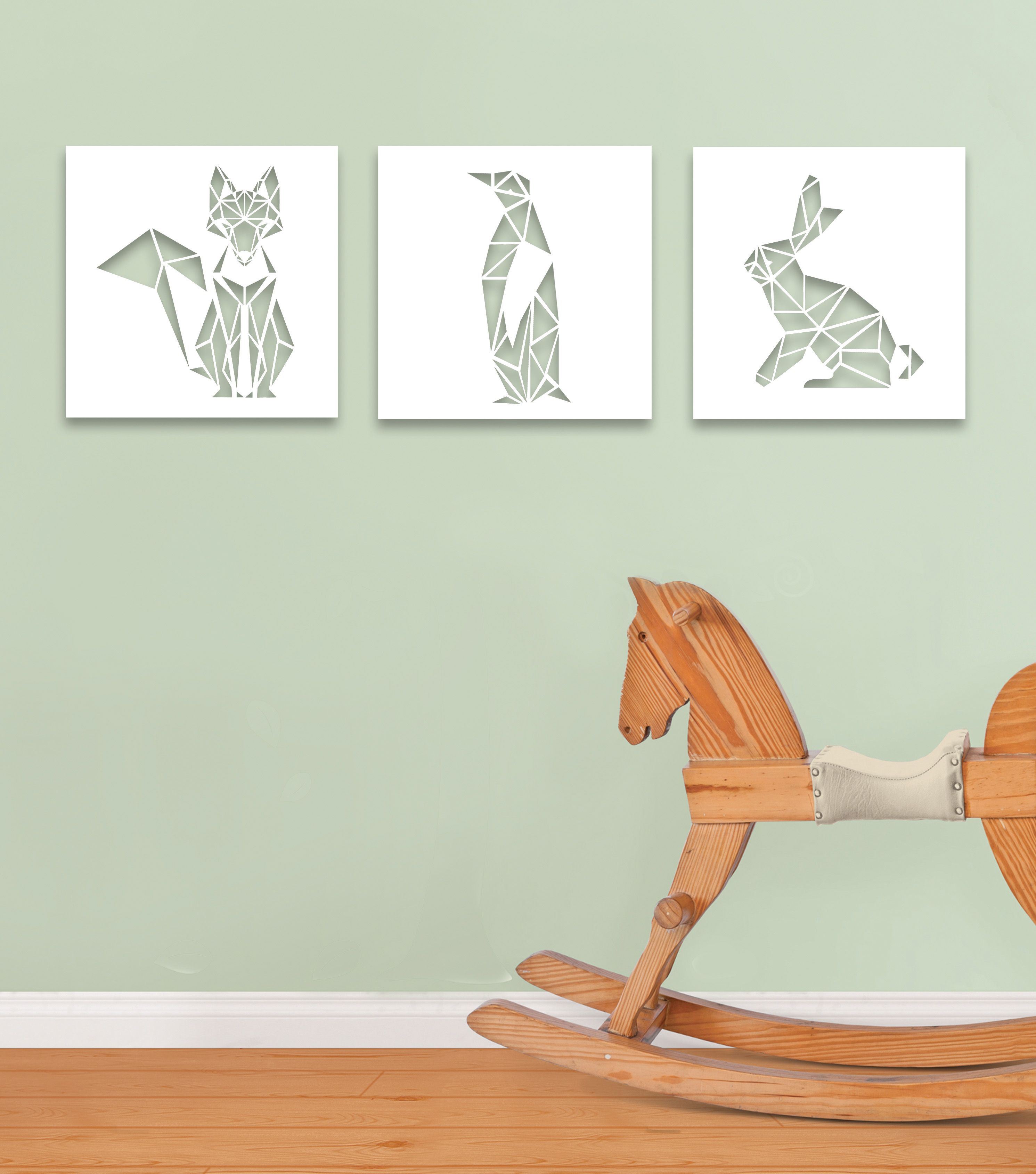 perfect canvas cutouts for your new baby room canvasart
