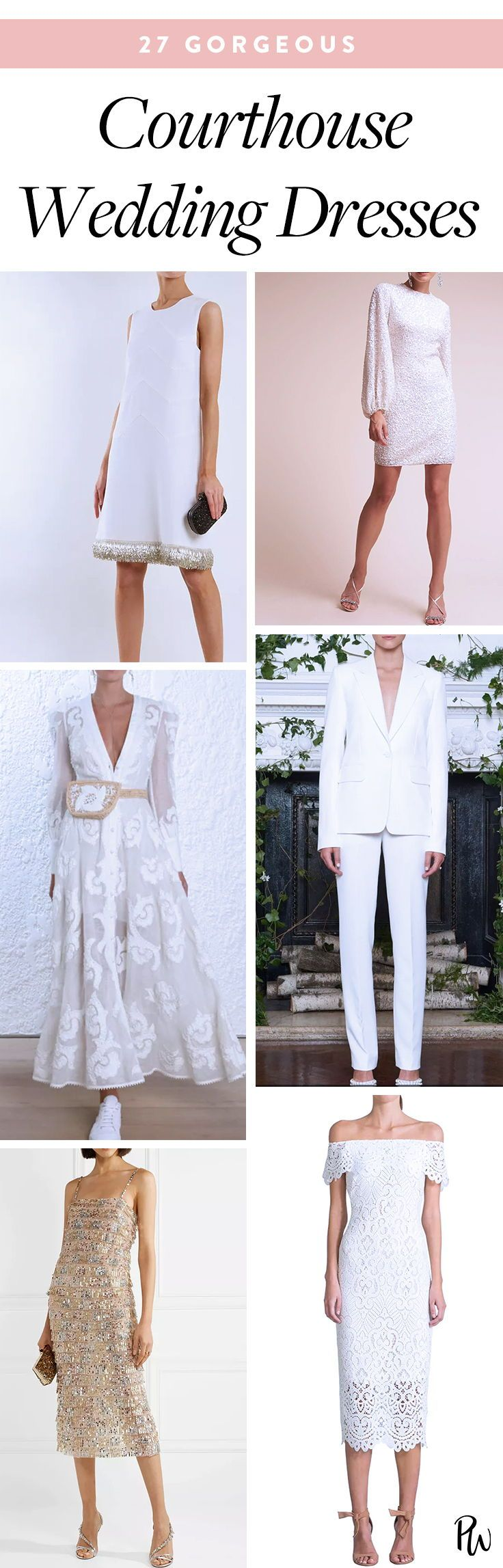dresses that will look perfect at your courthouse wedding