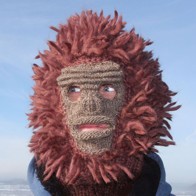 Sasquatch! pattern by Faye Kennington #crochetedbeards
