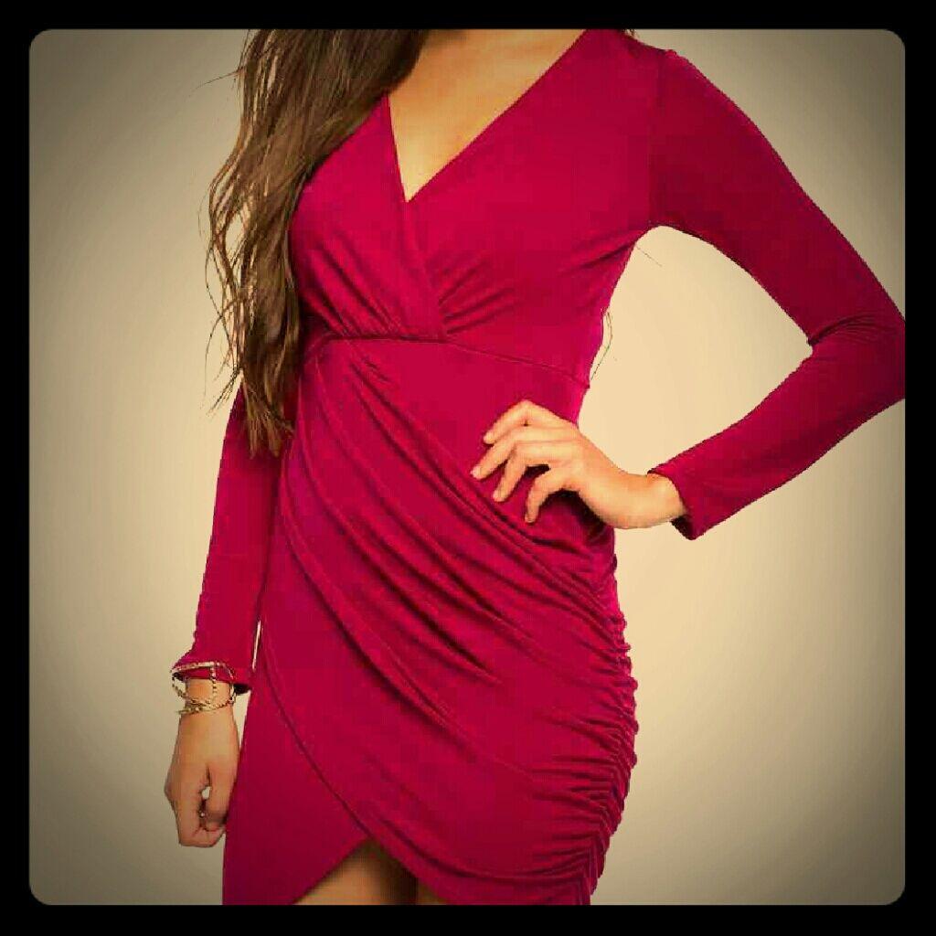 Sale!!! Nwt Magneta Wrap Dress Size Small