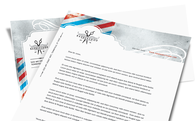 Letterhead templates letterhead design layouts professional business letterhead template for mac cover letter format formatg best free home design idea inspiration spiritdancerdesigns Choice Image