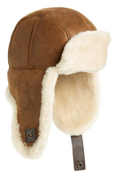 UGG® Australia Genuine Shearling Trapper Hat Ropa da4089600fb