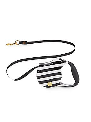 Women wearing dog collar and leash that would