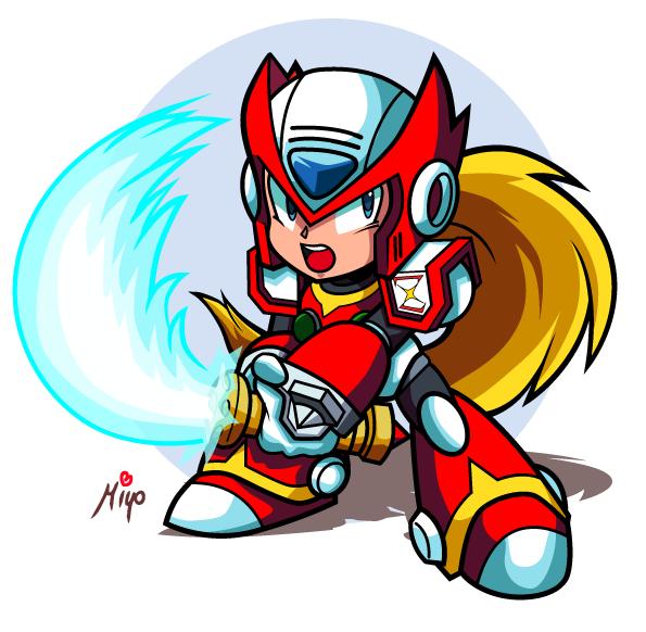 Chibi Zero Megaman X By Shayeragal On Deviantart Mega Man Art Chibi Mega Man