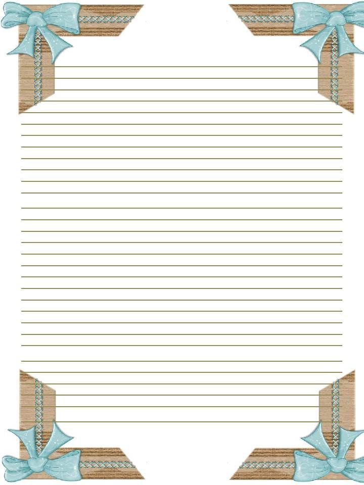 Printable Stationary - Journal page - letter | templates/ labels ...