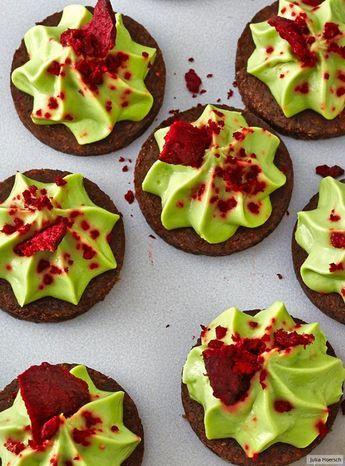 Avocado-Chili-Taler mit Rote-Bete-Chips Rezept
