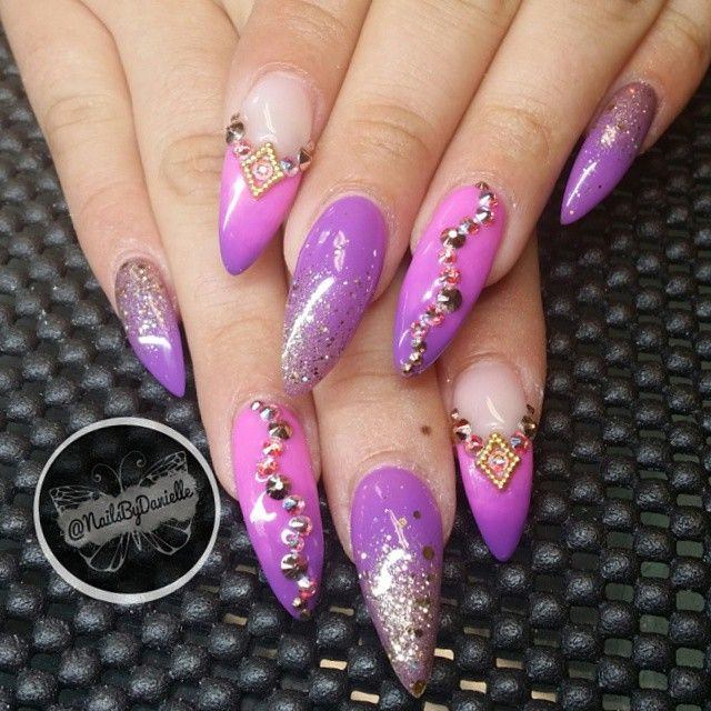 """Arabian nights nails!"""