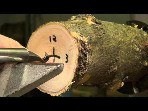 Ausdrehhaken - Haken drechseln - DIY - Helmchen