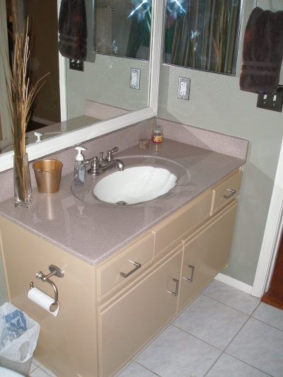 Refinishing cultured marble counters diy for the home - Faux marble bathroom countertops ...