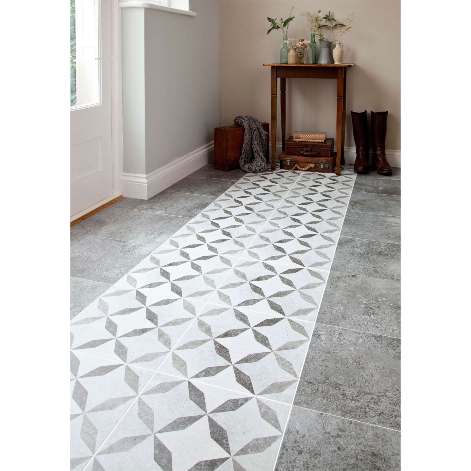 Feature floor tiles image collections home flooring design brixton dark grey floor 331x331 bathstore 6 walker pinterest made using the latest in hd inkjet dailygadgetfo Image collections