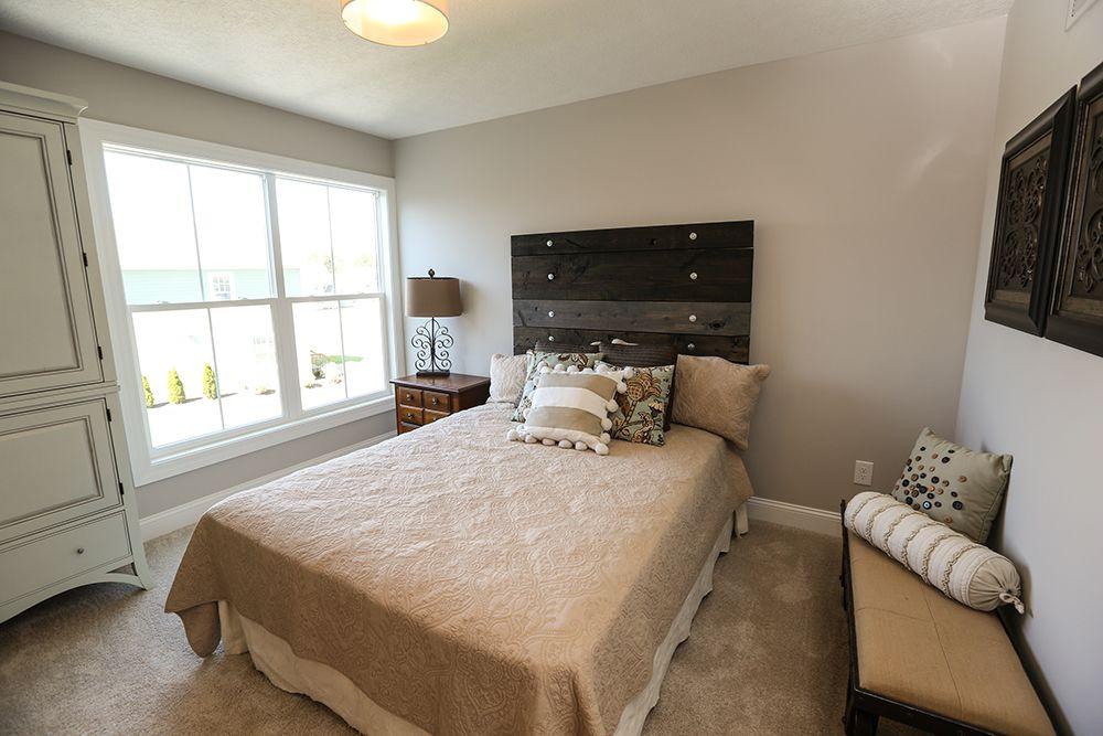 Guest Bedroom in Model Home #guest #bedroom #model #home # ... on Model Bedroom Interior Design  id=67797