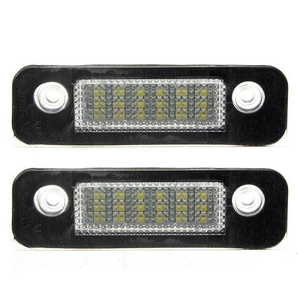 2x 12v 18leds License Number Plate Lamps Light For Ford Mondeo Mk2 Ford Mondeo Car Lights Lamp Light