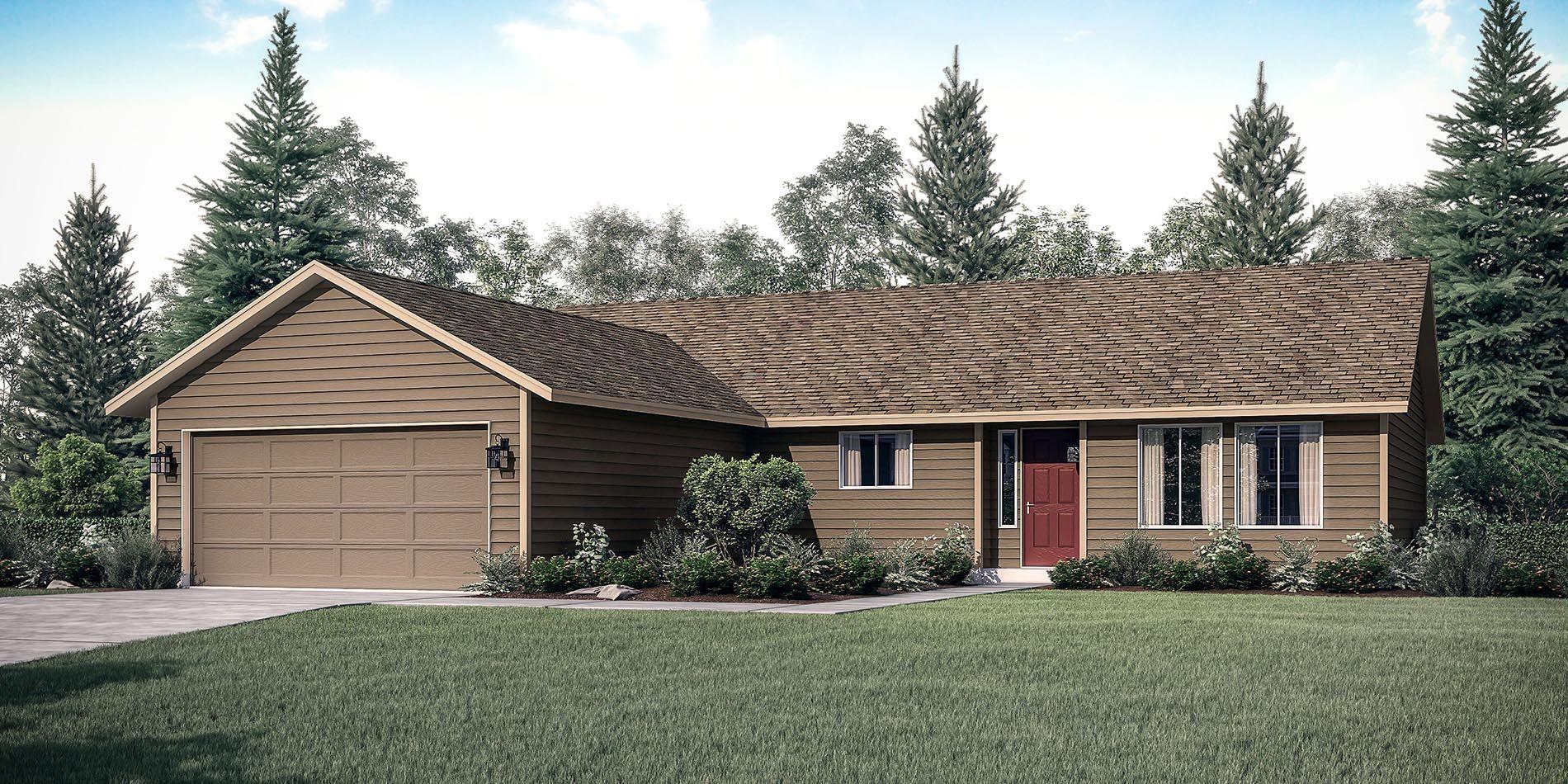 The Winchester Custom Home Floor Plan