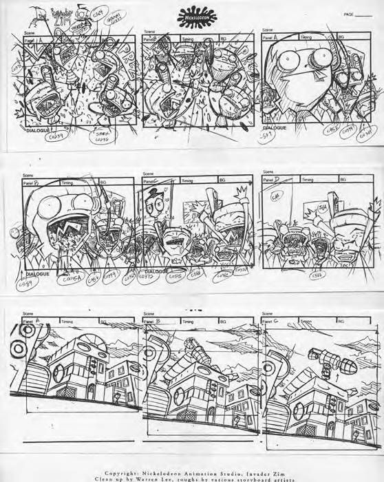 Minimoose Rocks His Storyboards  Story Board