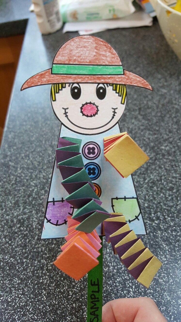 Dingle dangle scarecrow craft for preschoolers … | School ideas ...