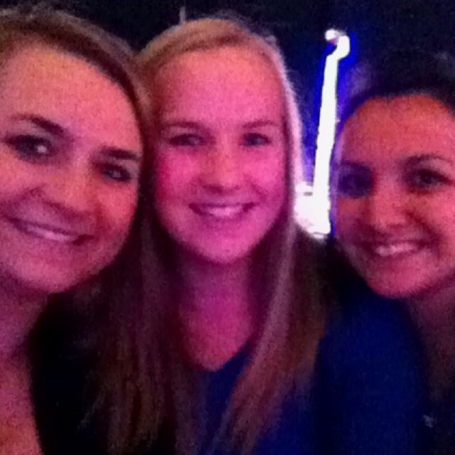Ferris wheel at the fair with my roomies :)