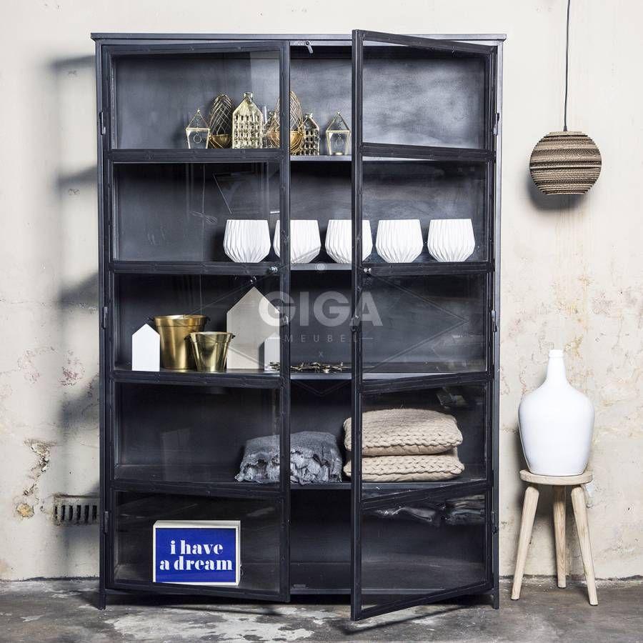 industriele kasten,dressoirs en ander meubelen bij giga meubel, Deco ideeën