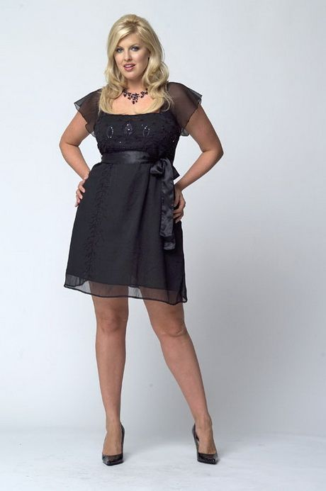 Cute Black Short Plus Size Dress Plus Size Curvy In 2018
