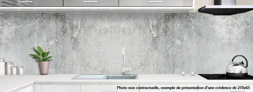 Panneau Mural Imitation Beton, Design Déco Moderne Tendance, Pour Cuisine  Et Salle De Bain