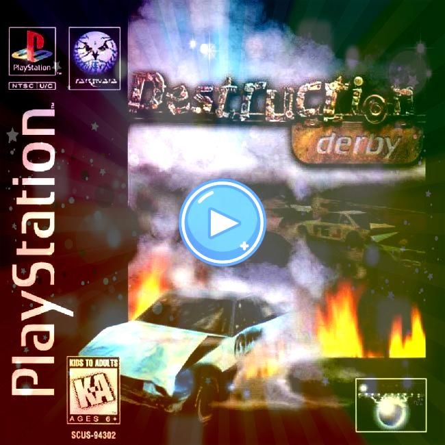 Derby is a 1995 vehicular combat game developed by Reflections Interactive and published by Psygnosis Released for the PlayStationDestruction Derby is a 1995 vehicular co...