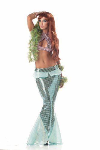 Mermaid costume A bit risqué, but might work Halloween - work halloween ideas