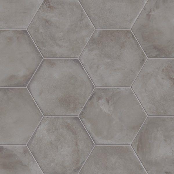 Marca Corona #Terra Antracite Esagonale 25x21,6 cm 0093 ...