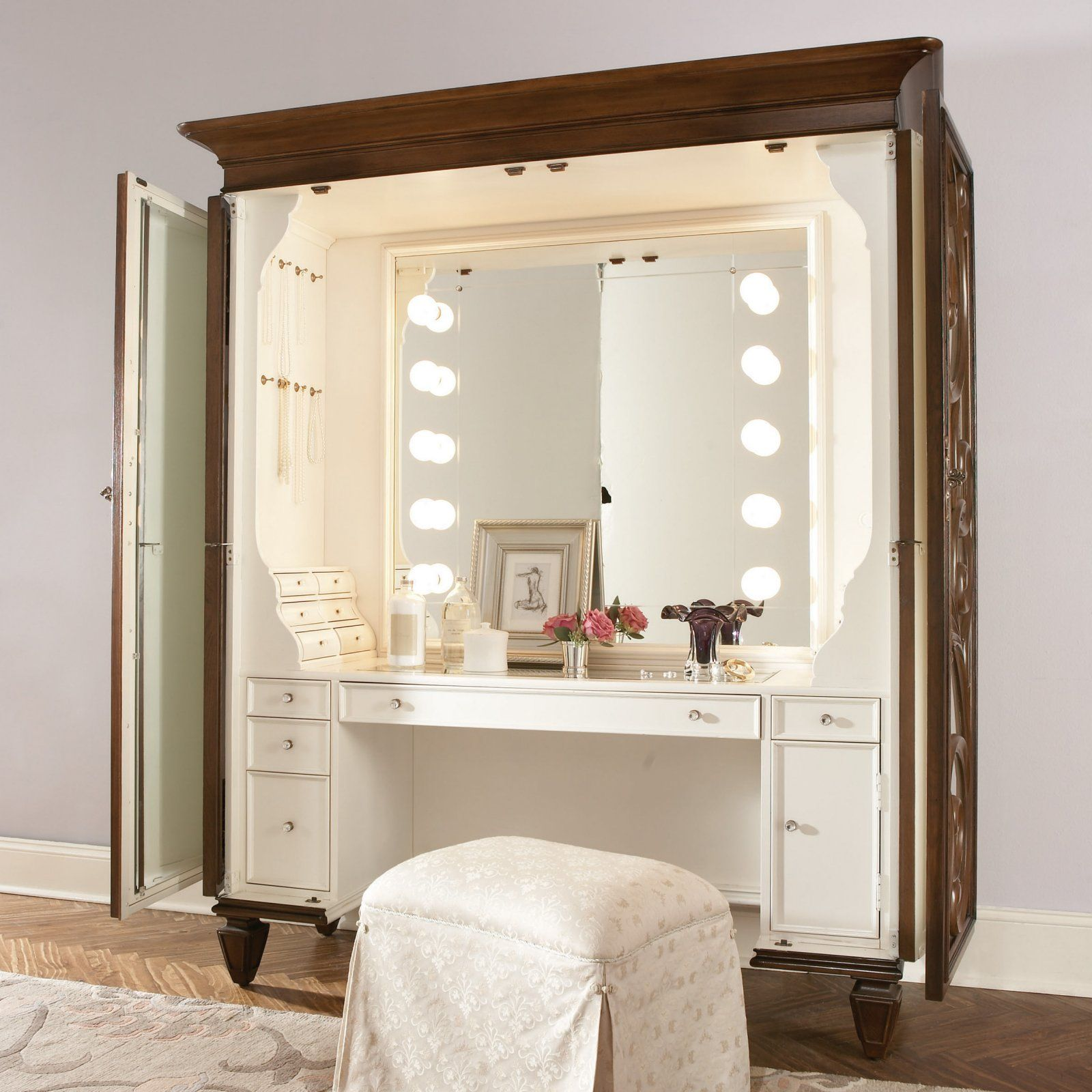 Jessica Mcclintock Couture Bedroom Vanity Set Bedroom Vanity