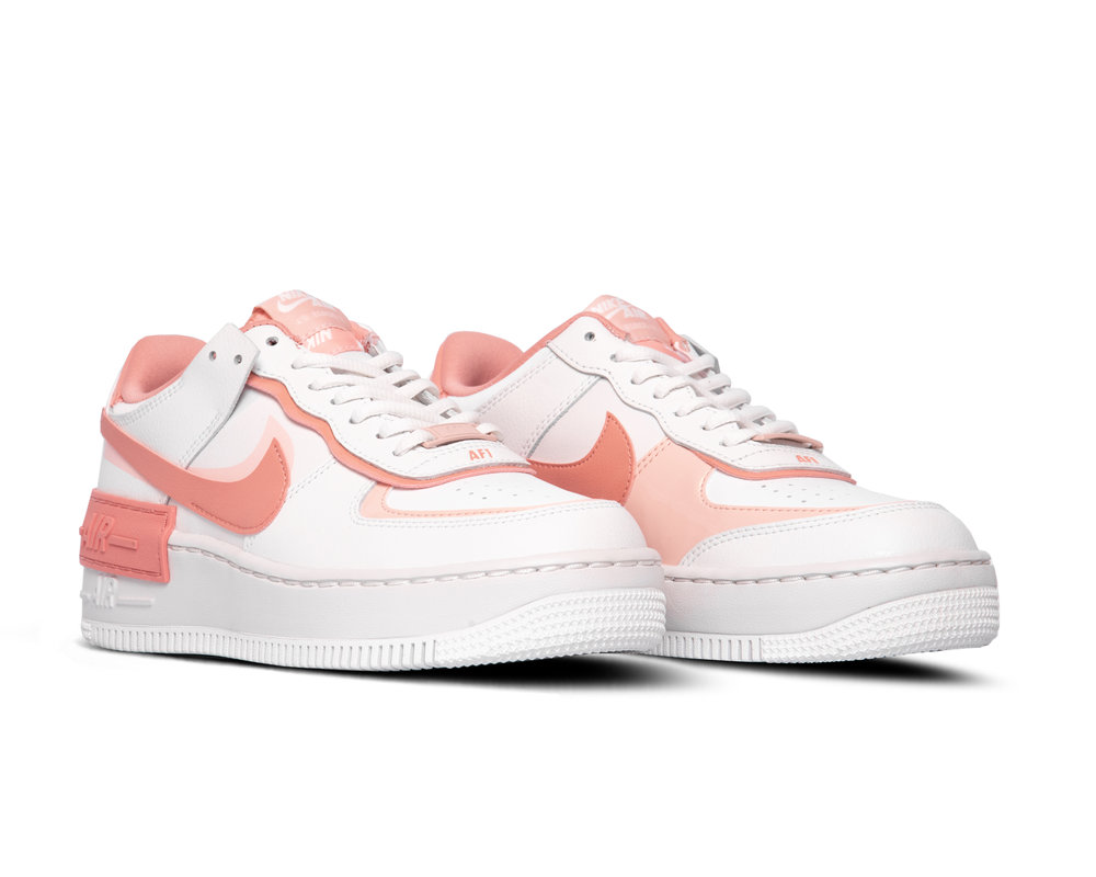 Air Force 1 Shadow Summit White Pink Quartz Washed Coral