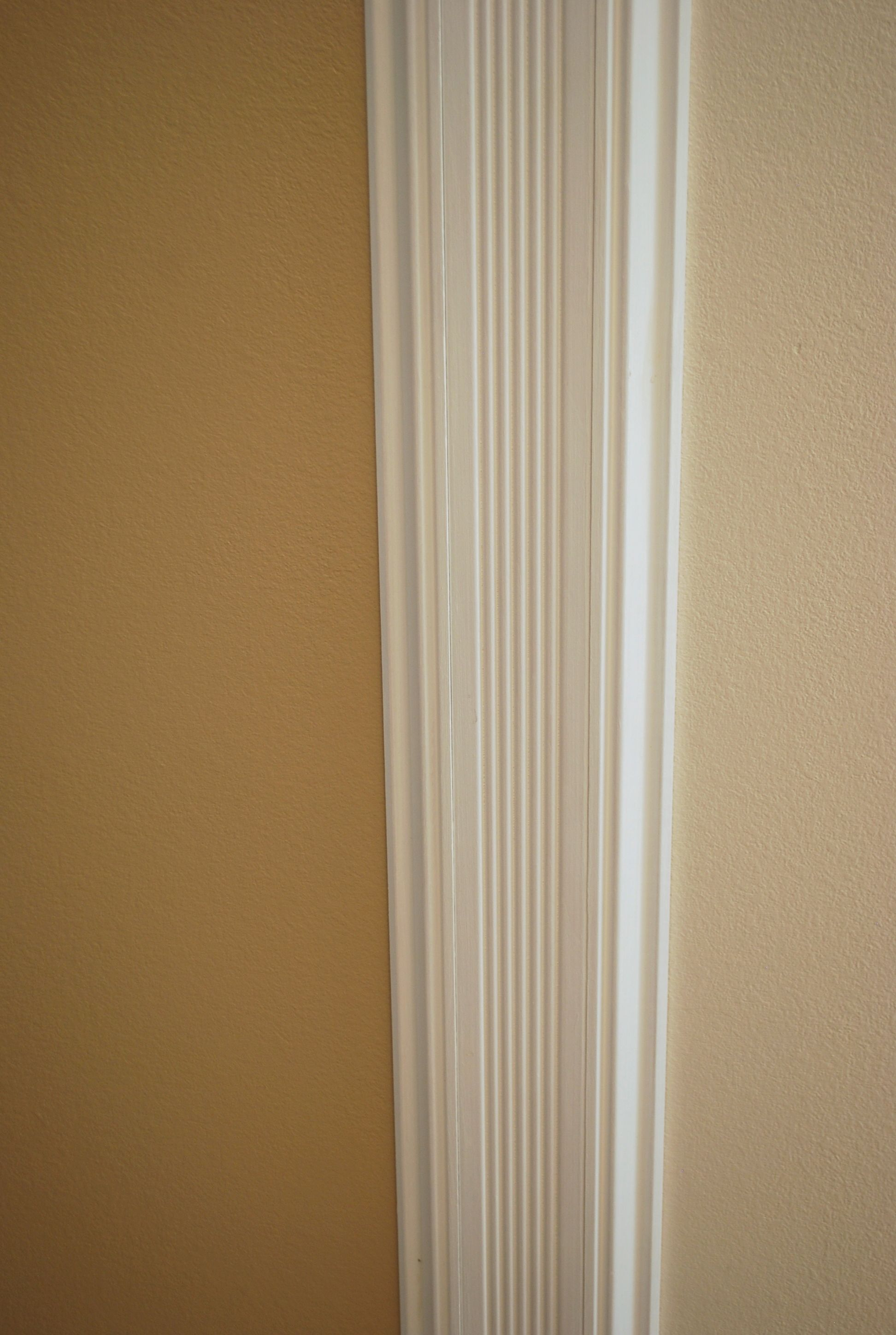 How to hang wood trim to separate rooms with different ...