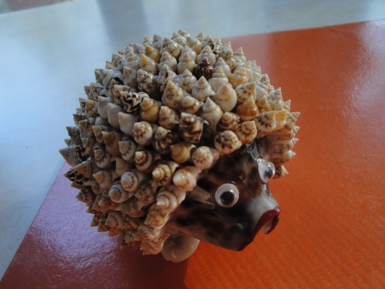 Sea shell seashell hedgehog figurine philippines for Arts and crafts with seashells