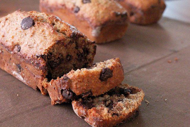 cinnamon chocolate chip banana bread by pastryaffair, via Flickr