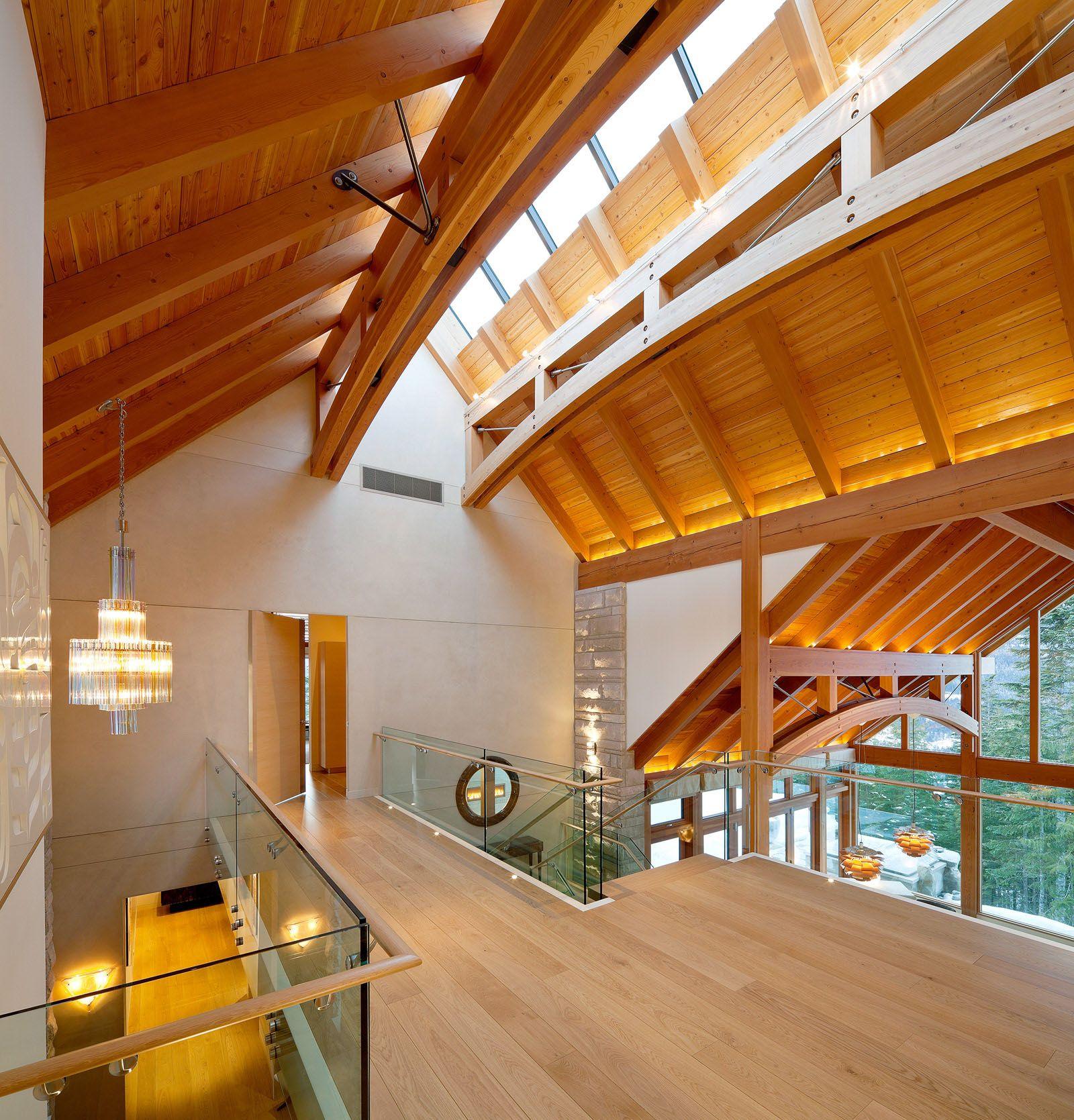 Luxury Timber Frame Mountain Retreat In Whistler Timber