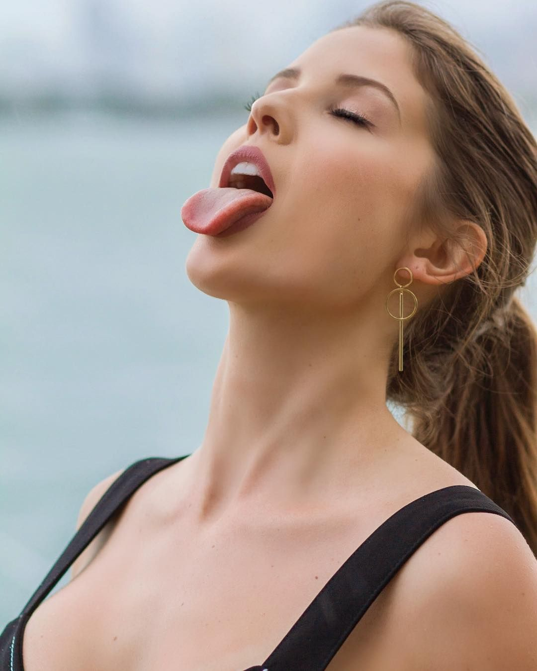 Think, that Girl jean hot tongue very valuable