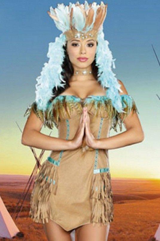 Disfraz de india nuestro disfraz de india es perfecto - Difraces para carnaval ...