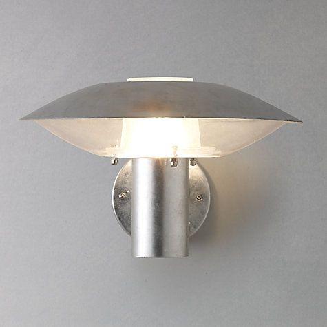 Buy nordlux disco glavanised steel outdoor wall light online at buy nordlux disco glavanised steel outdoor wall light online at johnlewis mozeypictures Gallery