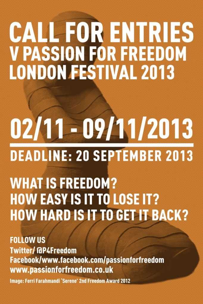 call for entries 2013