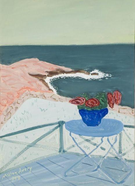 milton avery paintings | pinkpagodastudio: Milton Avery