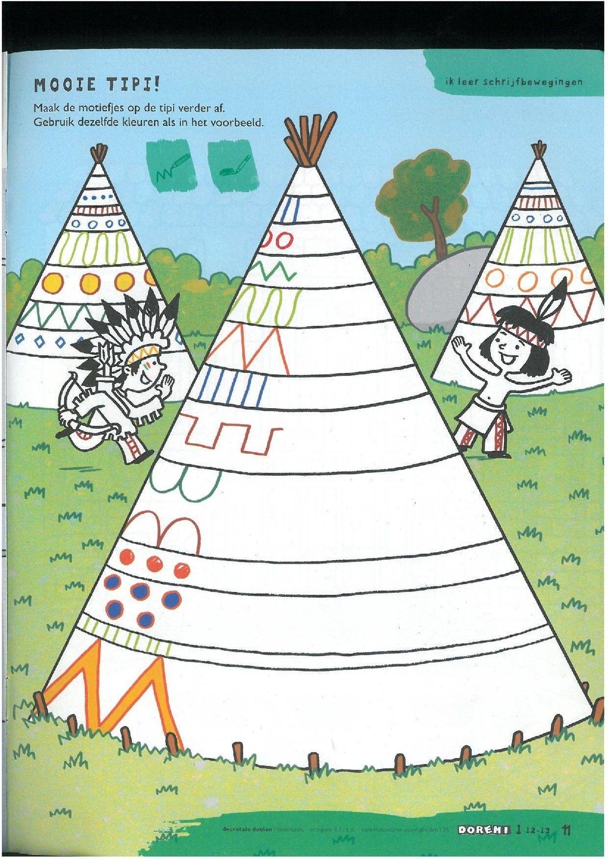 Native Indians Worksheet