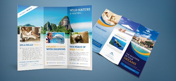 Free PSD Travel Brochure Flyers Pinterest Travel brochure - travel brochure