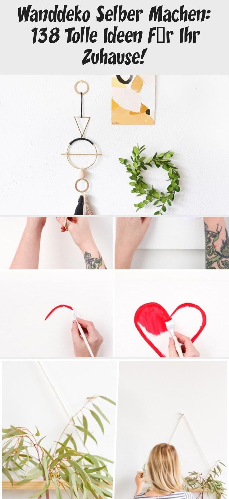 Wanddeko Selber Machen: 138 Tolle Ideen Für Ihr Zuhause! #wanddekoselbermachen