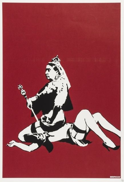 Banksy | Queen Victoria (2003) | Available for Sale | Artsy