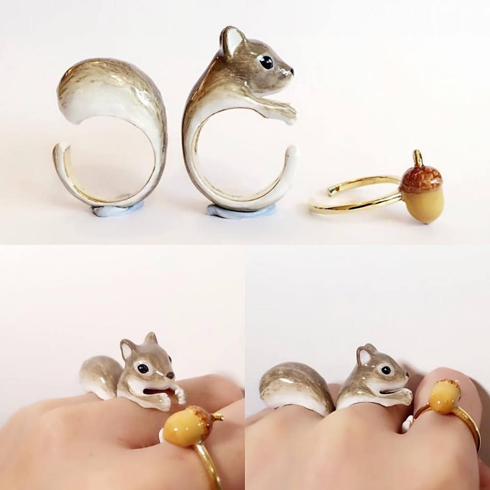 see animal jewelry that will transport you to a woodland forest