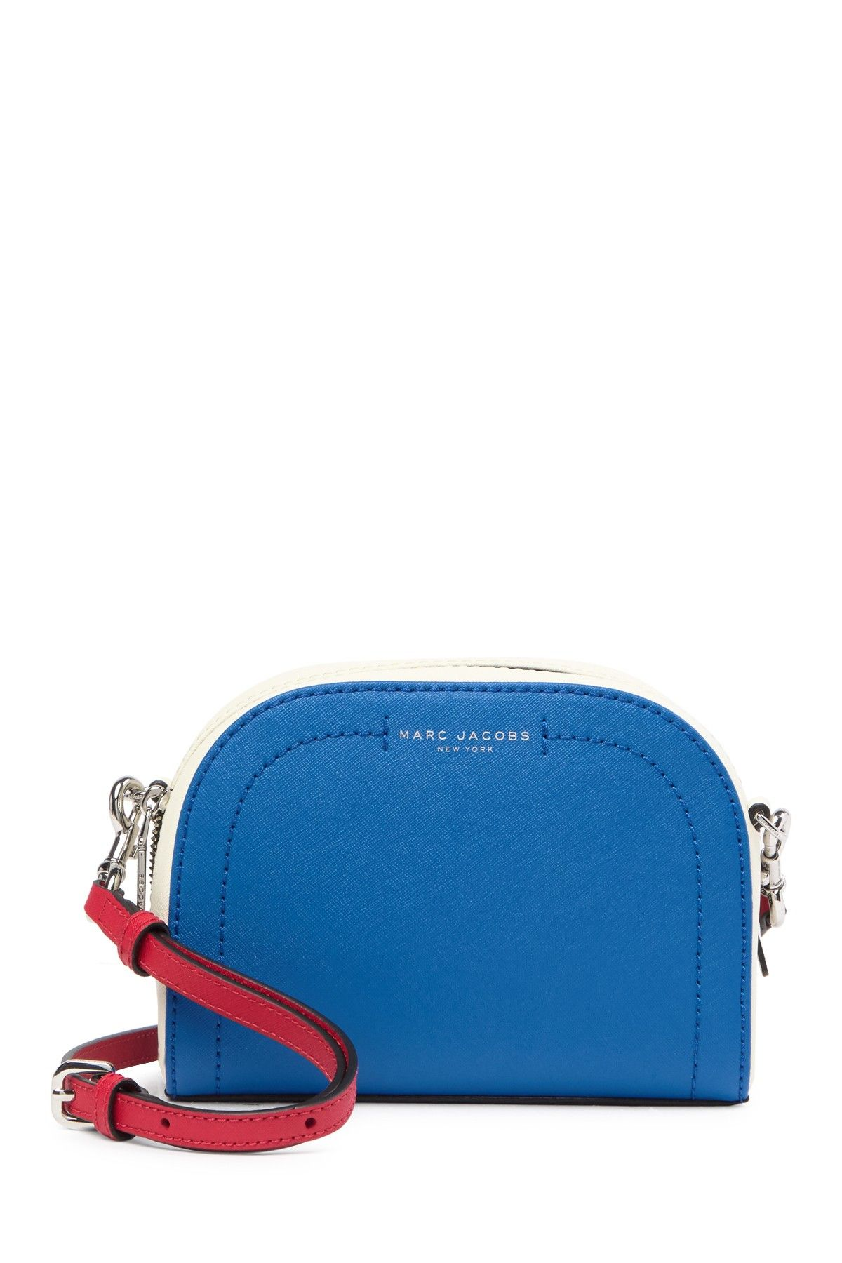 f9f7d7fa14 Marc Jacobs - Playback Colorblocked Leather Crossbody Bag is now 65% off.  Free Shipping on orders over $100.